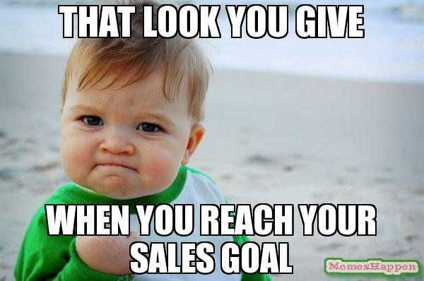 20 Funny Sales Memes That People In Sales Can Relate To Sayingimages Com Sales Meme Success Kid Funny Kids