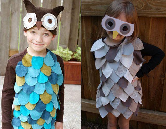 Простые костюмы детям своими руками