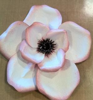 TUTORIAL... DIY Magnolias... so pretty!
