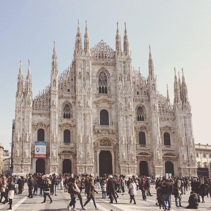 Duomo a.k.a The Dome in Milan, Italy
