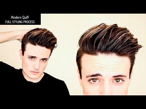 Undercut Hairstyle | Modern Quiff - FULL PROCESS, NO EDITS - Mens Hair Tutorial - YouTube