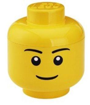 Lego Förvaring L Pojke Gul | Inredning Förvaring | Jollyroom