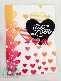 Stampin' Up! Sealed with Love Occasion, Juana Ambida Independent Stampin' Up!® Demonstrator Australia: Sending Love Suite -