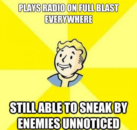 #Fallout Fun Truths via Reddit user thurmco