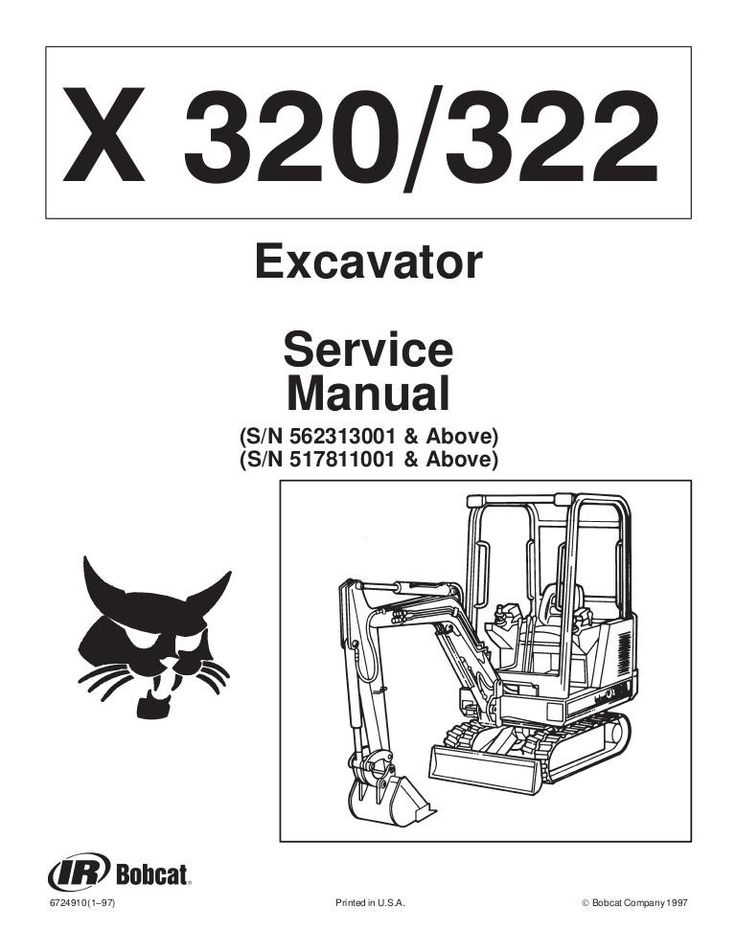 click on the image to download Bobcat X320, X322 Hydraulic