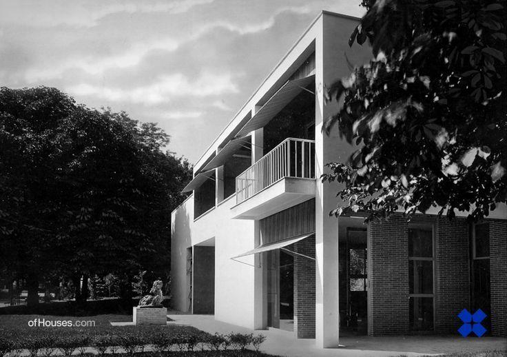 Giuseppe terragni casa sul lago per l 39 artista alla for Casa sul lago a 2 piani