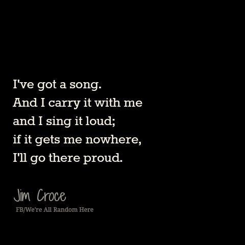 Jim Croce - I Got a Name - 1973 Album= I Got a Name  Song  Lyrics