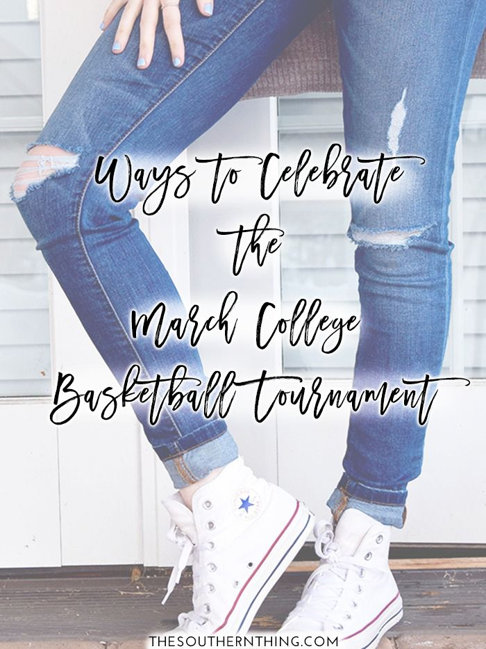 Ways to celebrate the March NCAA basketball tournament. NCAA March Madness basketball party ideas for everyone.