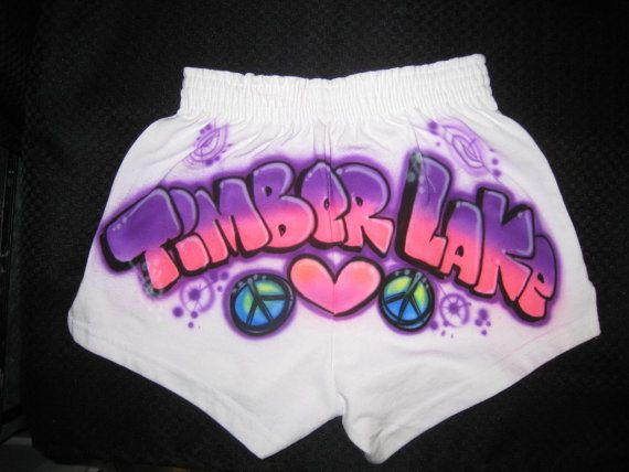 Airbrush Juniors Soffe Shorts, Gymwear, Cheer shorts