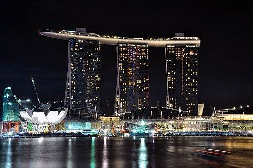 Marina Bay Sands. Singapur