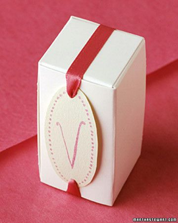 This package is sealed with a personalized label made using a rubber stamp.