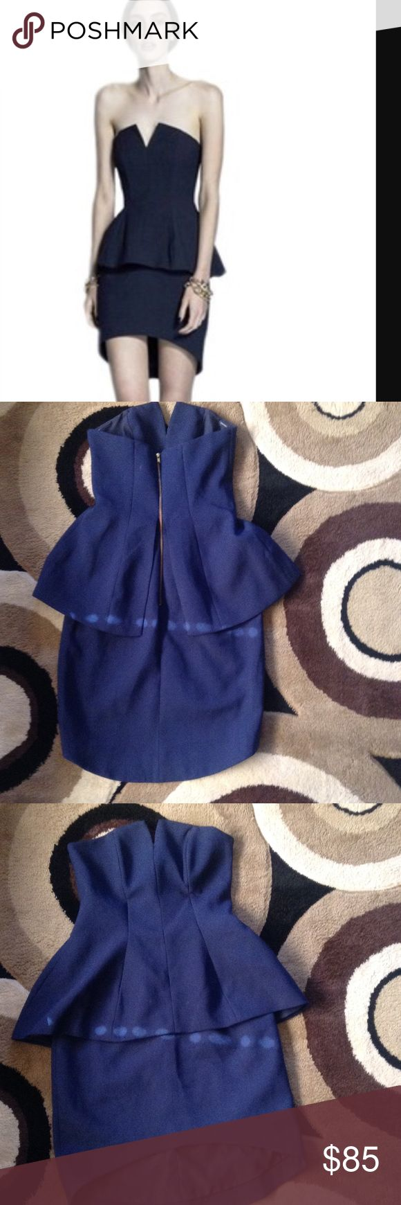 Finders keepers dress Really cute navy finders keepers dress never wear!! Finders Keepers Dresses Mini