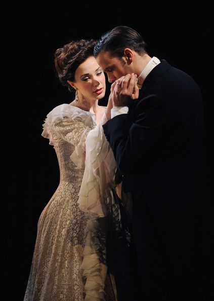 Ramin Karimloo and Sierra Boggess in Love Never Dies    I cannot stop listening to these two sing! They have been a joy to listen to this month!