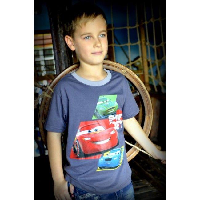 Verdák szürke póló. Akciós áron 1299 Ft. Új gyerekruha webáruház.