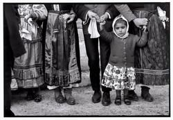 Constantine Manos 1964 Greece. Karpathos. Olympos. 1964. Dancing at a festival.