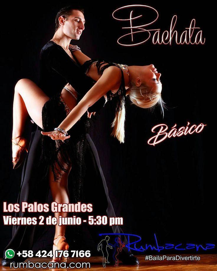Aprende a bailar #Bachata Este jueves 1 de junio desde las 6:30 pm en Los Palos Grandes. ABRIMOS NUESTRAS PUERTAS A TODOS LOS BAILADORES DE BACHATA Inversión: Membresía (2017) Bs 4000 - Mensualidad Bs 9000 Clase (alumnos con membresía 2017): Bs 3000 Clase (público en general): Bs 3500 Invita un amigo(a) al #SanoVicioDeBailar  Ven y #BailaParaDivertirte  #Academia #Baile #Baila #Bailar #Dance #Bailador #Bailarin #Dancer #Música #Music #Timba #Salud #Saludable #Diversion #Relax #Bienestar…