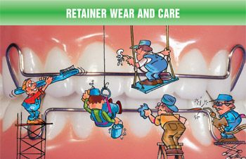 How to Clean Your Retainers? You can clean your retainers with a vinegar solution. #Smile #wearyourretainers #retainertime #beautifulteeth #braces #retainers #teeth #dental