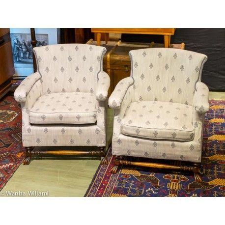 Tyylikkäät nojatuolit 1920-luvulta.