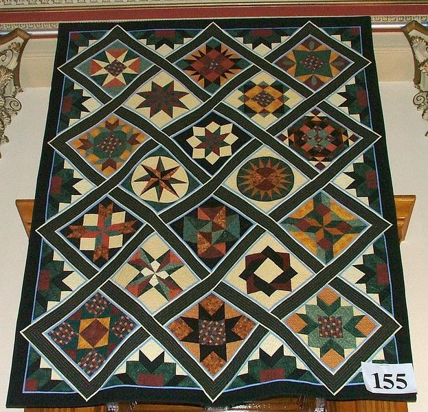 2007 Quilts at the Capitol - Snowcatcher   I  like the sashing design