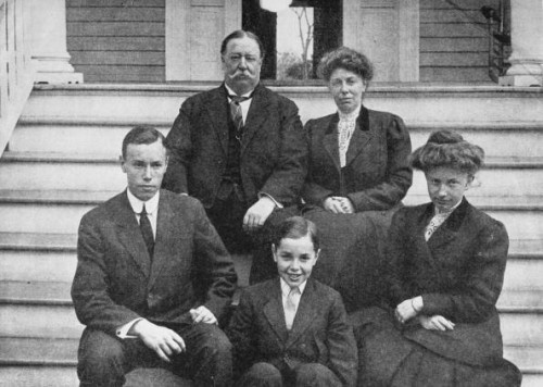 Taft Family | ... Of Past Presidents (Part 1) | William Taft | Family Goes Strong