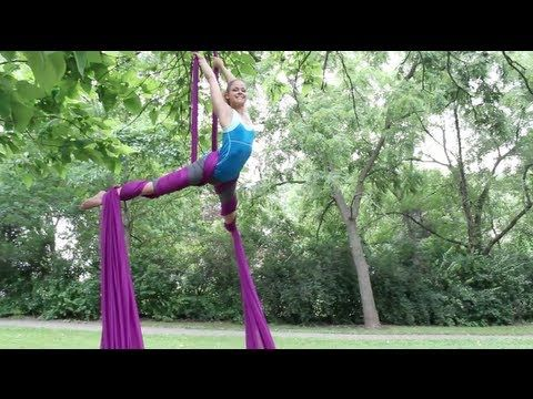 00:30; 3:40, 4:00; 5:30 new way to get into X at 4:00 ▶ Aerial Silks After 8 Months of Classes - YouTube