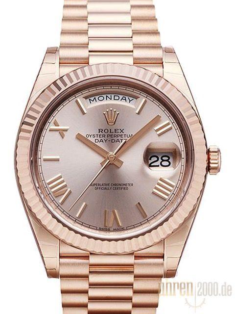 Rolex Day-Date 40 Everose-Gold 228235 Sundust R ...repinned für Gewinner!  - jetzt gratis Erfolgsratgeber sichern www.ratsucher.de