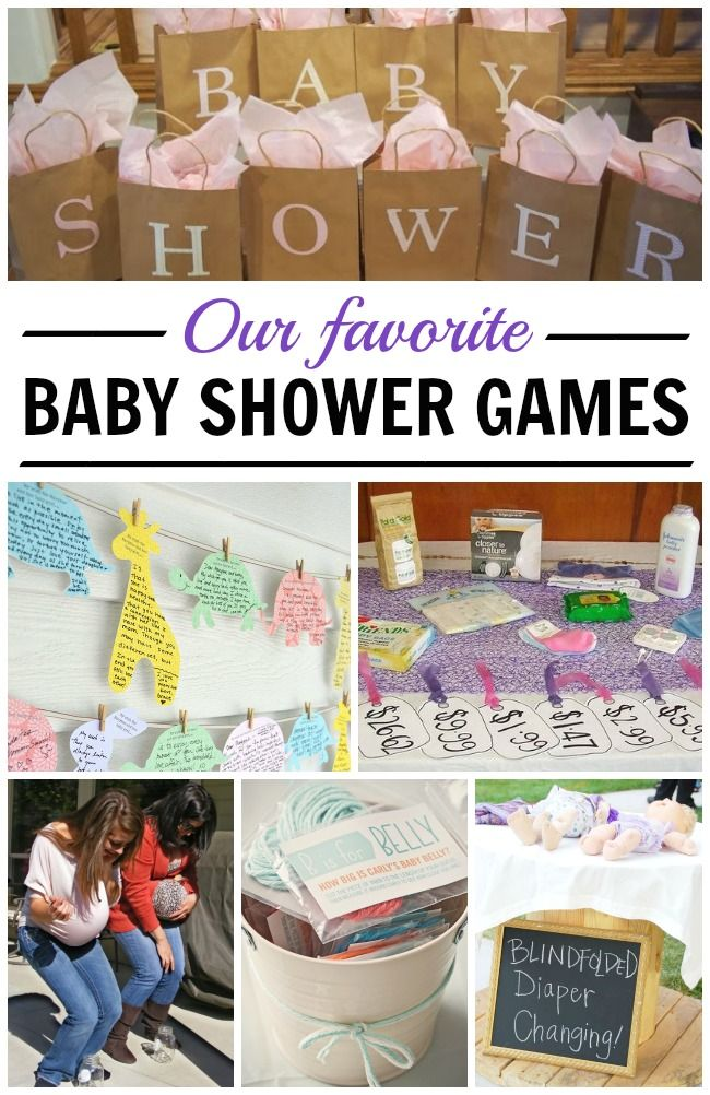 The all time BEST baby shower games