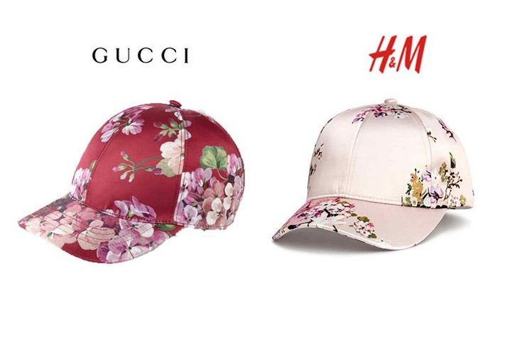Gucci Vs. H&M  http://stylelovely.com/entutiendamecole/2017/03/gorras-estampadas