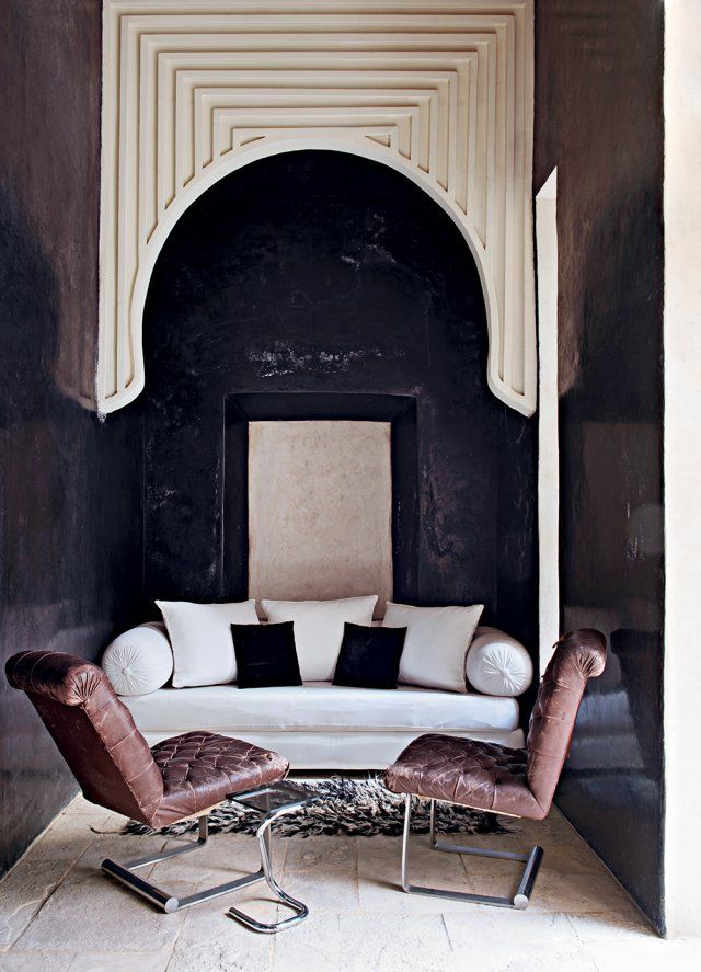 Un riad d\'exception   Pinterest   Salons, Oriental and Modern