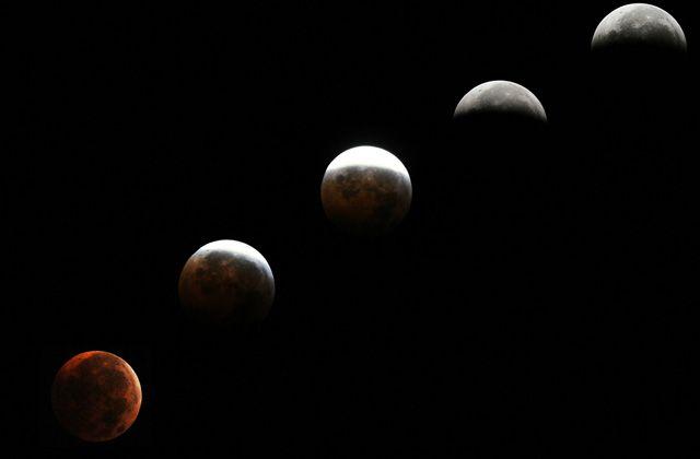 Eclipse luna Maryland