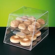 Dispensador bollería pastelería de 2 pisos