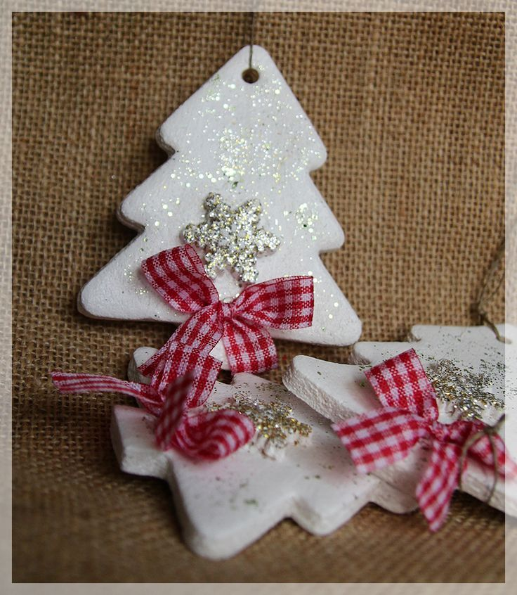 Salzteig-Weihnachtsbaum – #saltdough #SalzteigWeih…