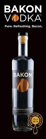 bacon vodka...bakon bloody marys at Krug Park in Omaha, NE with beef jerky garnish are AHHHMAAHHHZING