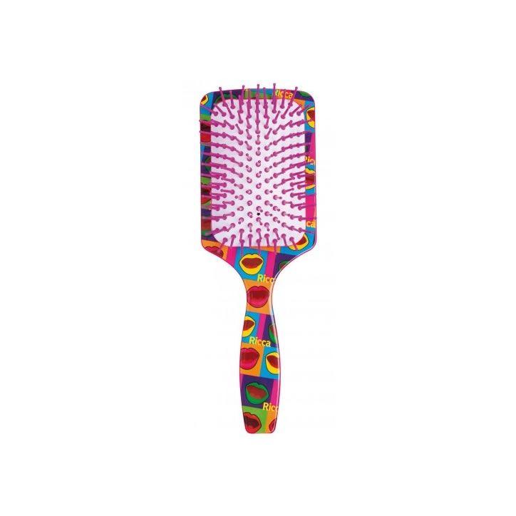 Escova Pop Kiss Raquete - Ricca