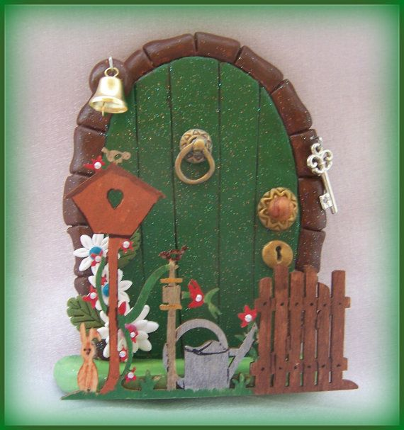 Fairy Door Ideas a fairy door gnome door that opens 12 inch by nothinbutwood Find This Pin And More On Fairy Door Ideas