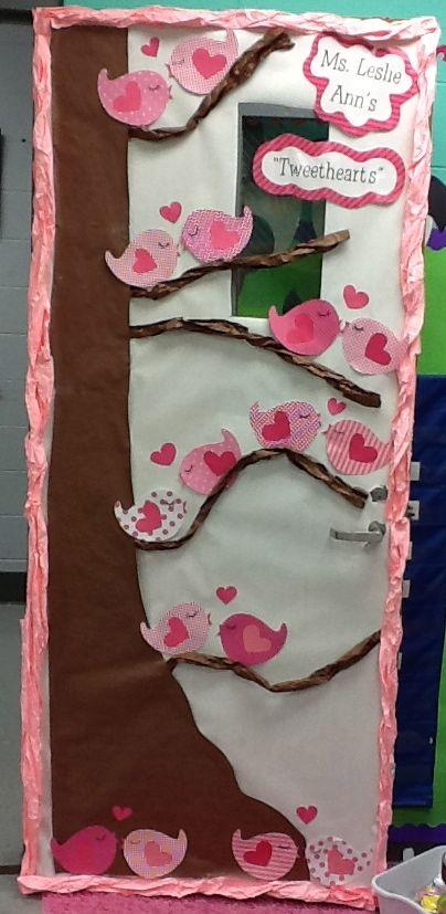 """Tweethearts"" Door Decoration - Thank You Life in First Grade!"