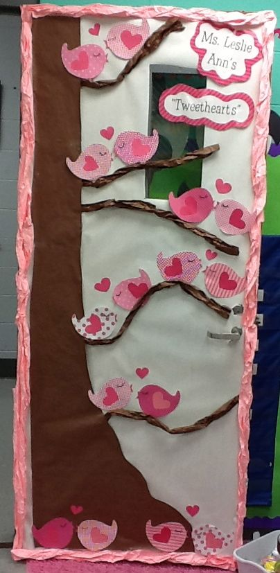 """Tweethearts"" Door Decoration - Thank You Life in First Grade!"