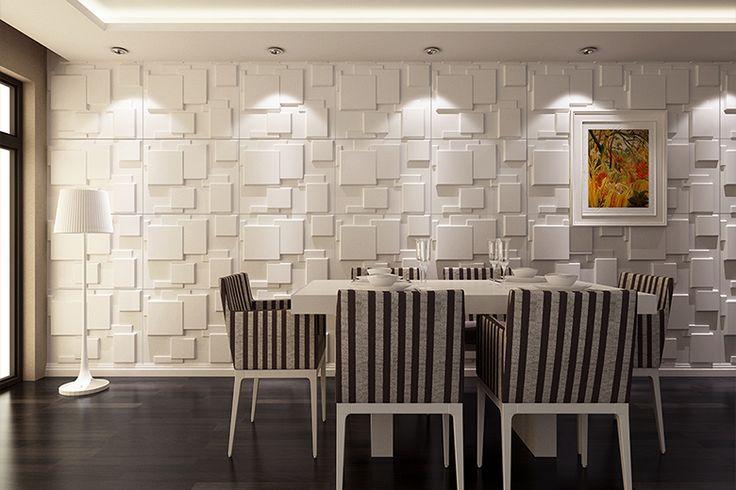 Revestimentos 3D: a nova tendência para revestir paredes!