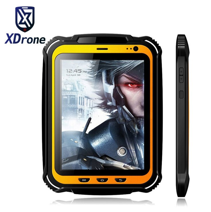 """China Rugged tablet PC Phone IP67 Android Waterproof Shockproof Quad core 7.85"""" Screen 2GB RAM GPS NFC 15000mAH Big Battery"""