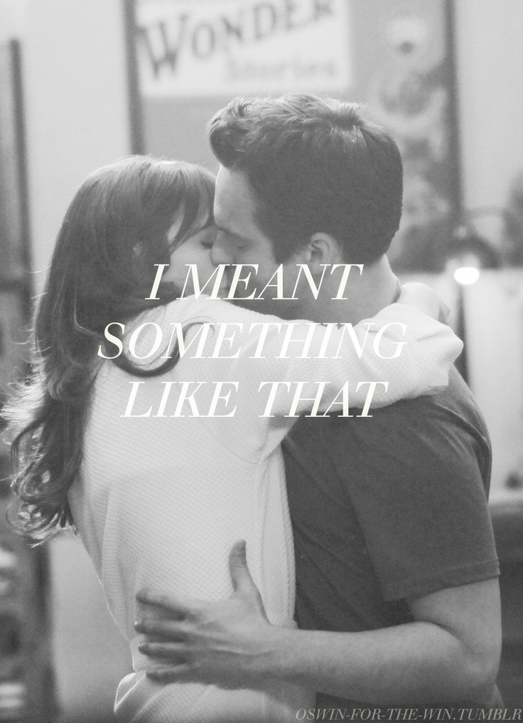 My heart did a fist pump when this happened. Love New Girl!/AAaaaaaaahhhh Morí!!! The best kiss ever!!!