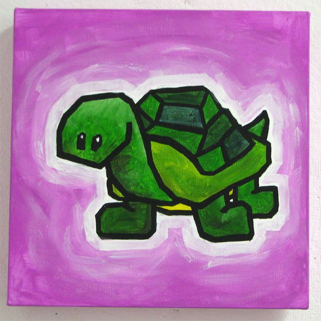 turtle by ali spagnola - order a free painting at http://www.alispagnola.com/Free/