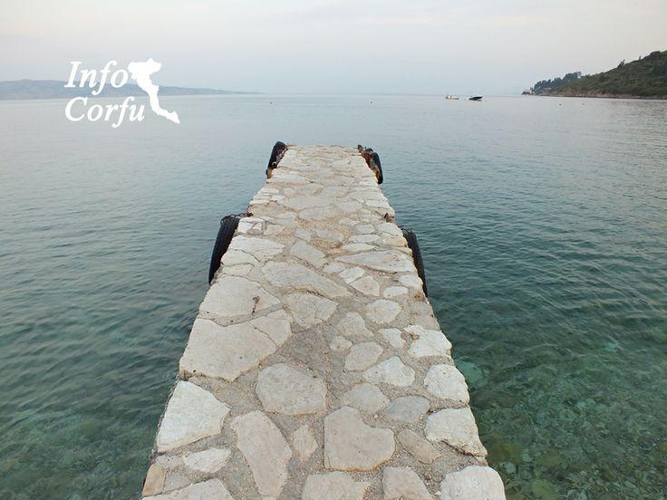 Kerasia beach in Corfu - Η παραλία Κερασιά στην Κέρκυρα. http://www.infocorfu.gr/kerasia