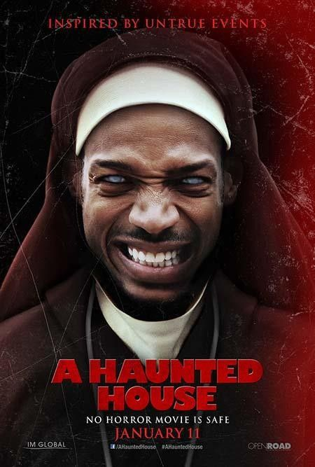 A Haunted House - Must See 'The Devil Inside' Spoof Movie Poster. Marlon Wayans…