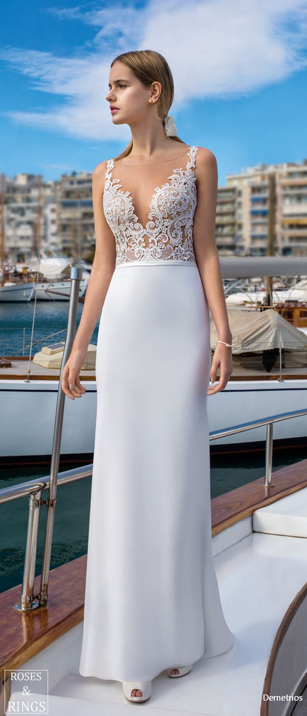 Demetrios Destination Beach Wedding Dresses 2019 | Wedding ...