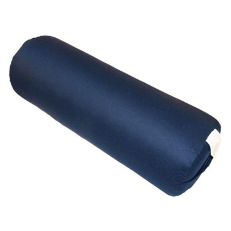 Hugger Mugger Round Yoga Bolster - BO-ROUND-CHOICE-BLUE
