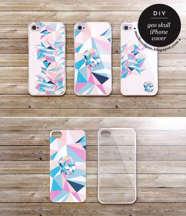 Maiko Nagao: DIY: Free iphone 4 & 5 cover design!