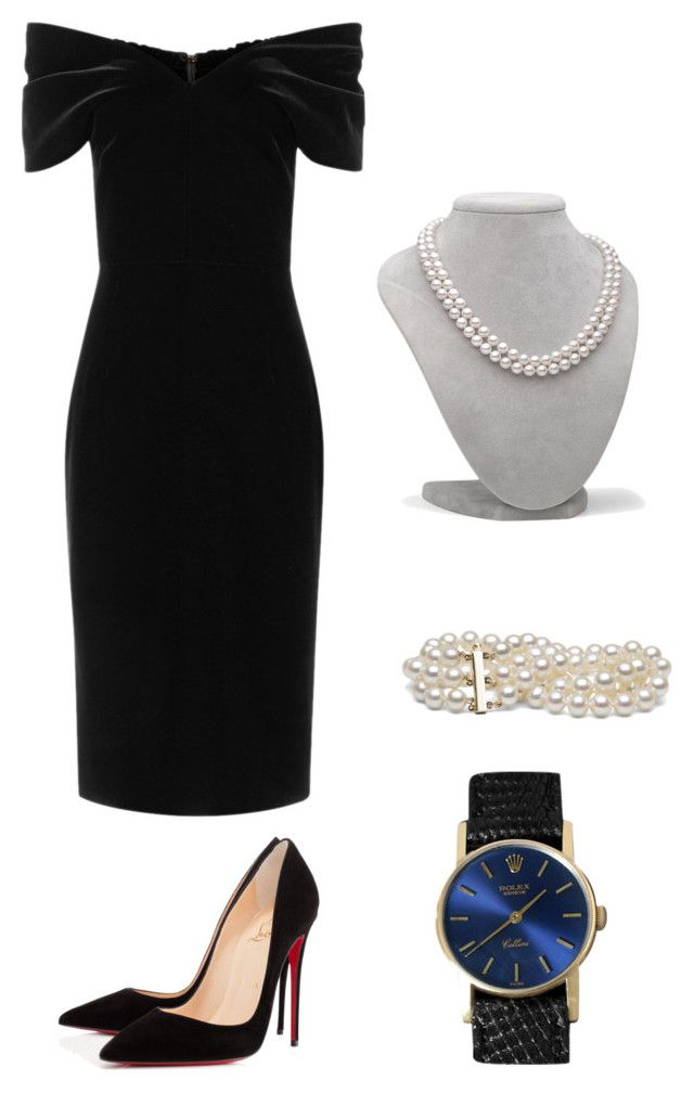 Sin título #8 by sil-mena on Polyvore featuring polyvore, fashion, style, Emilio De La Morena, Christian Louboutin, Rolex and clothing