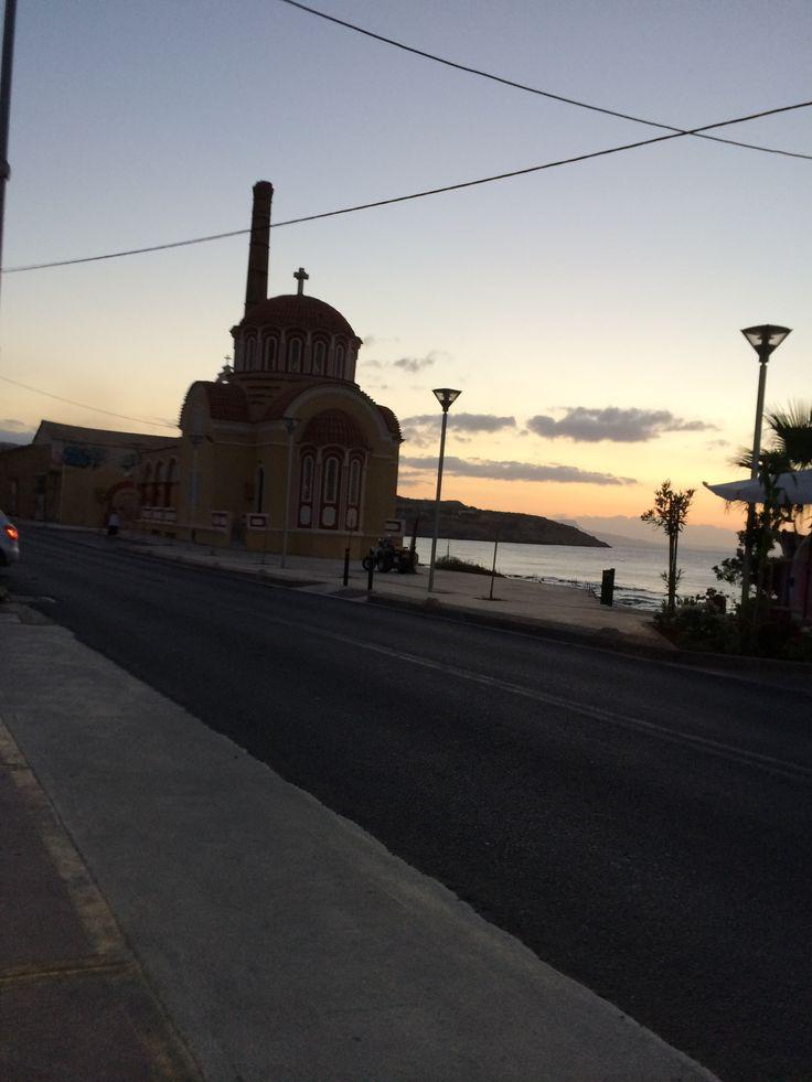 Classic~ church and the sea