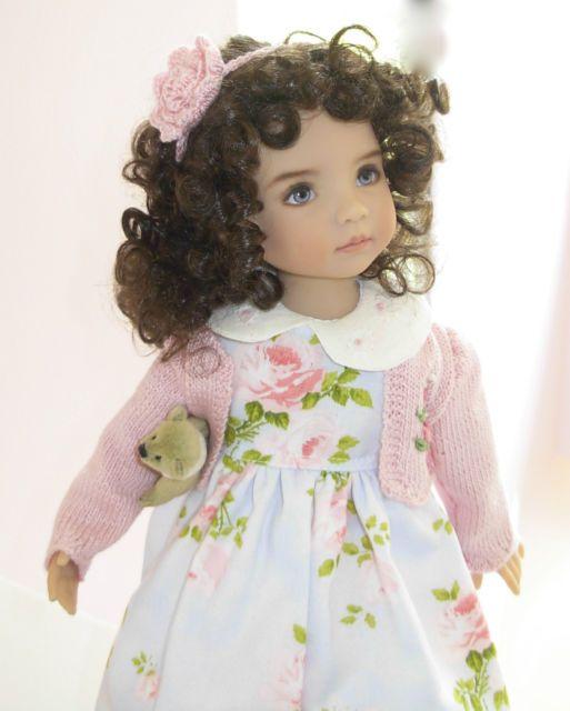 65 besten Dolls Bilder auf Pinterest | Puppen outfits, Engelchen und ...