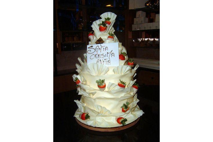#dolce monumentale per una Santa #cresima